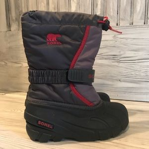 Sorel Youth Flurry Boot Size 1